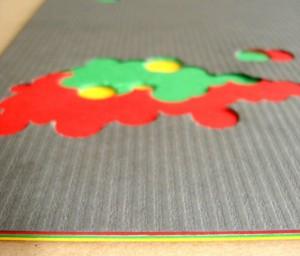 Colour Matters mehrfarbig kaschierter Verbundkarton
