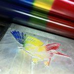 Iris print _ old technique