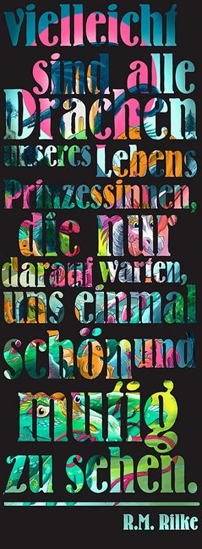 gelasertes Poster_von_Drachen_und_Prinzessinnen