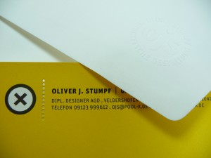 ALTA embossed OJS Kuvert + stationery