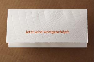 Letter puzzle mailing Dr. Kreutz
